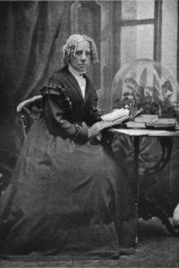 Maria Mitchell, die erste Astronomieprofessorin Amerikas.