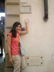 Auch keine einfache Biographie: Galileo Galileis Haus in Italien