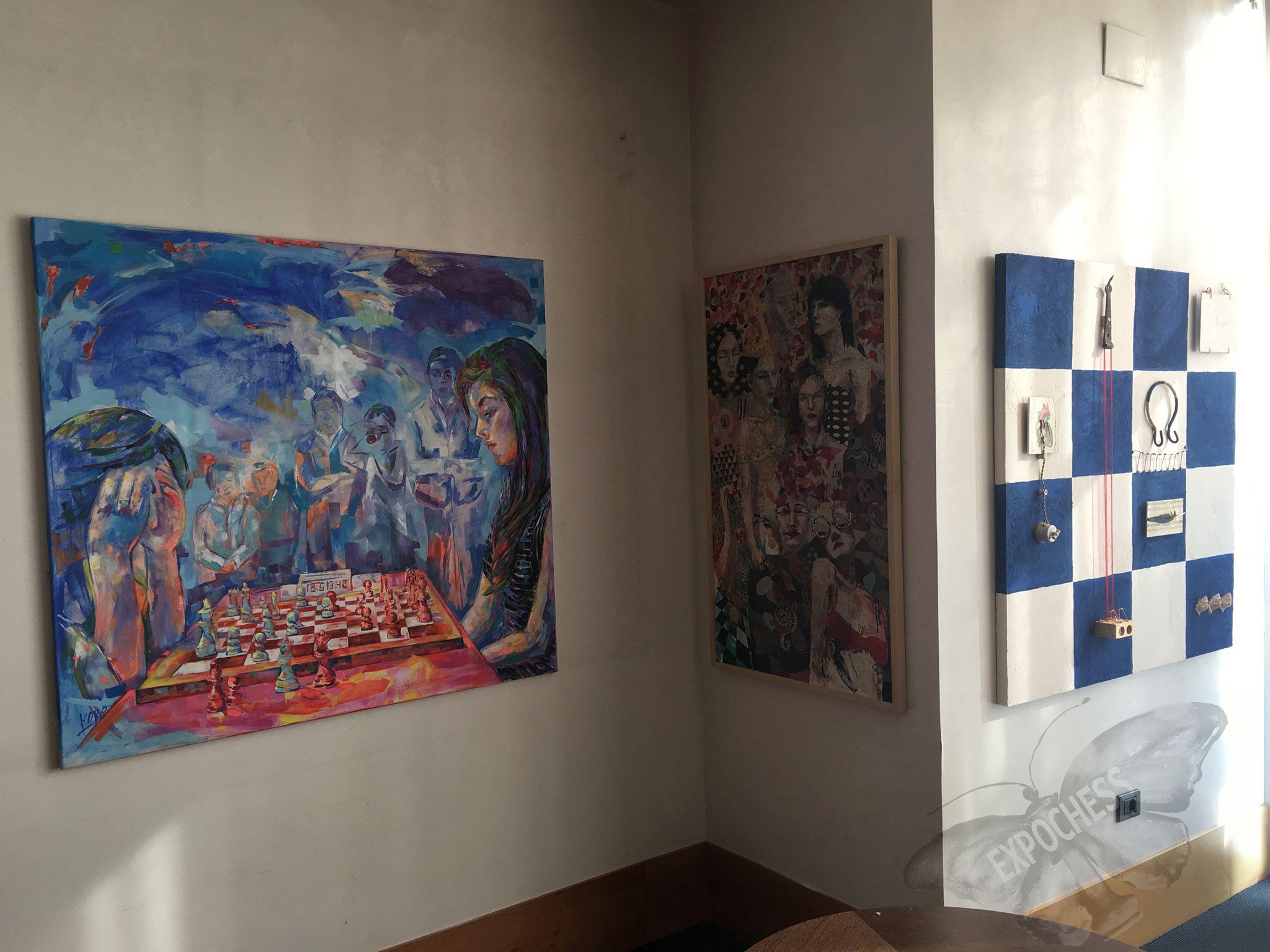 In Vitoria widmeten sich eine Ausstellung und Konferenz dem Frauenschach.