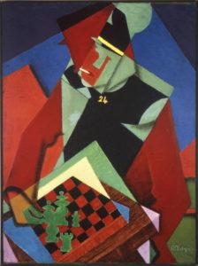 Jean Metzinger: Soldat beim Schachspiel (David and Alfred Smart Museum of Art Chicago, Abb..: Fundació Miro)