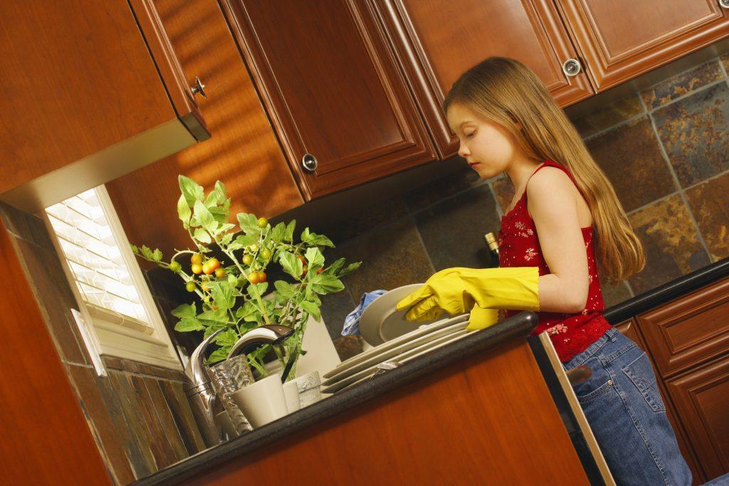 Hausarbeit statt Taschengeld