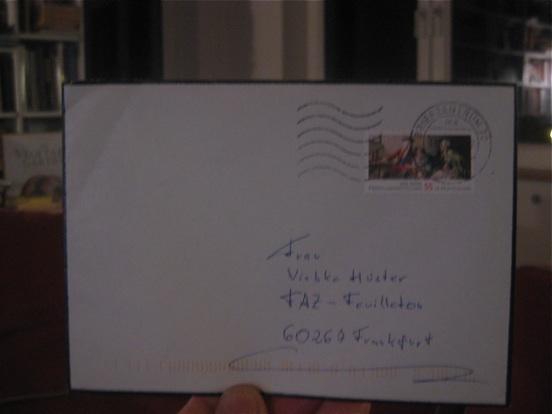 Briefumschlag Beschriften Für Trauerkarte : In der sache horst koegler mit oe aufforderung zum tanz