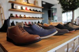 Vegane Schuhe: avesu-Store in Berlin